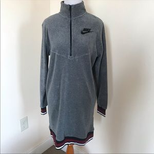 Nike Dresses - NWT Nike grey French terry dress